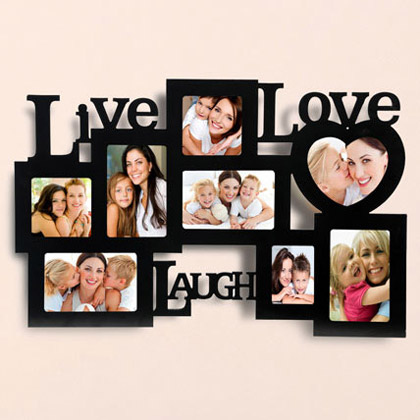 Live Love Laugh Photo Frame