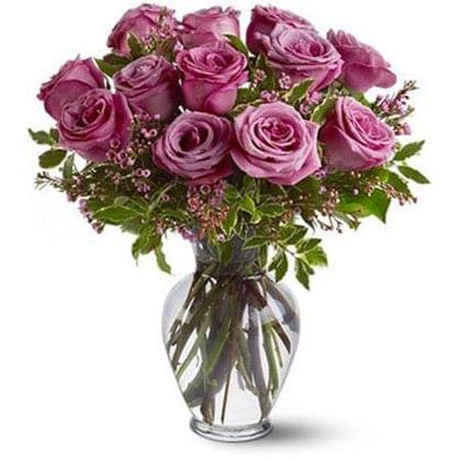 Dozen Levender Roses