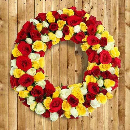 Festoon of Roses