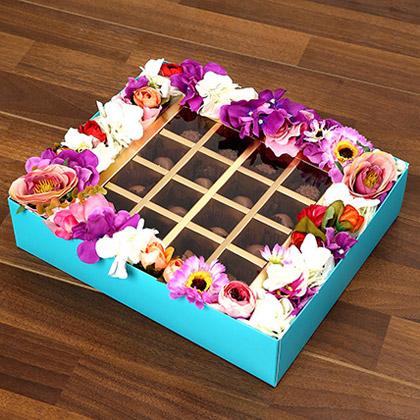Delectable Belgium Chocolates In A Box
