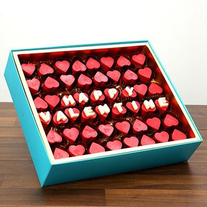 Valentine Special Heart Shaped Belgium Chocolates