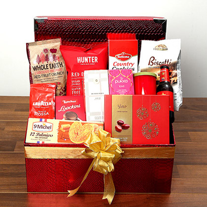 Chocolate and Flavored Tea Hamper