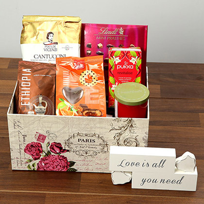 Valentine Special Chocolate and Coffee Hamper