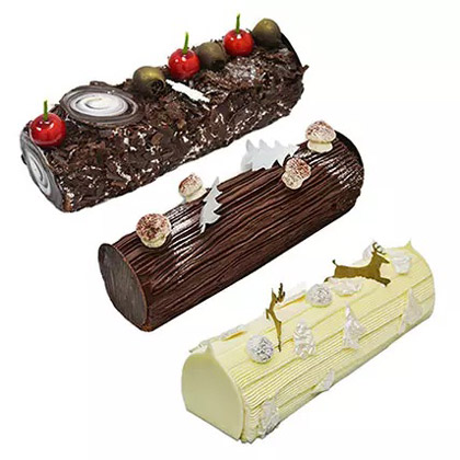 Delicious Log Cake Combo