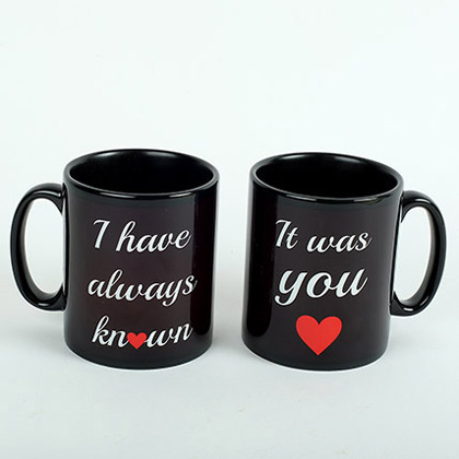 Black Love Mugs