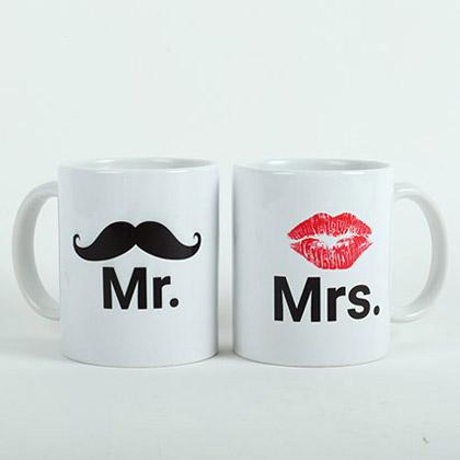 Mr N Mrs Couple Mugs
