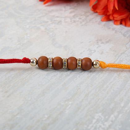 Embellished Beads Rakhi