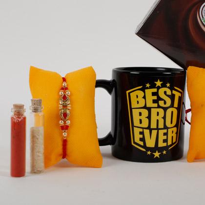 Rakhi And Mug Combo For Best Bro