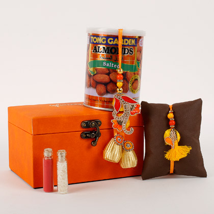 Rakhi And Almonds Combo