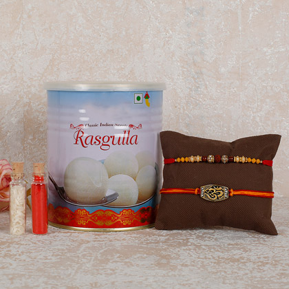 Rakhi And Rasgulla Combo