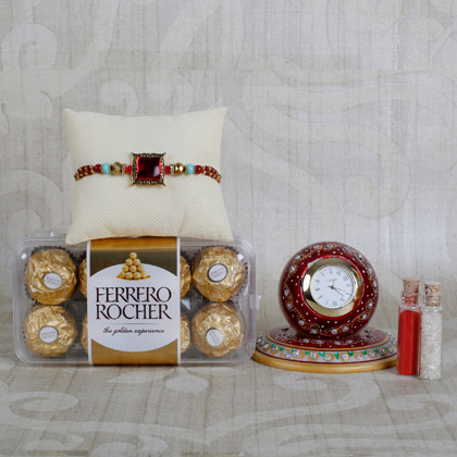 Ferrero Rocher With Designer Rakhi