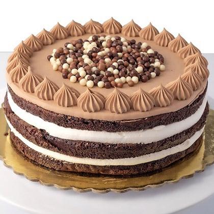 Lip-Smacking Cherry & Nutella Cake (500gm)