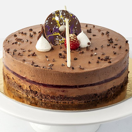 Chocolate Raspberry Cake (500gm)