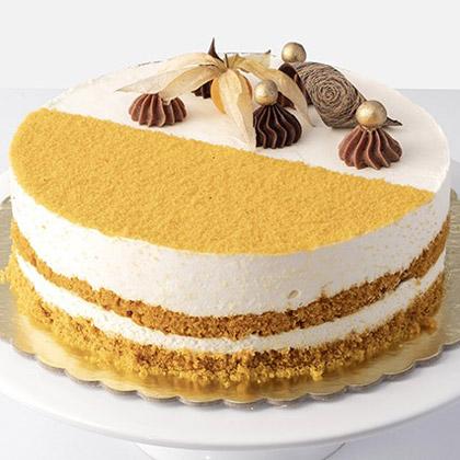 Delicious Honey & Saffron Cake (Half Kg)